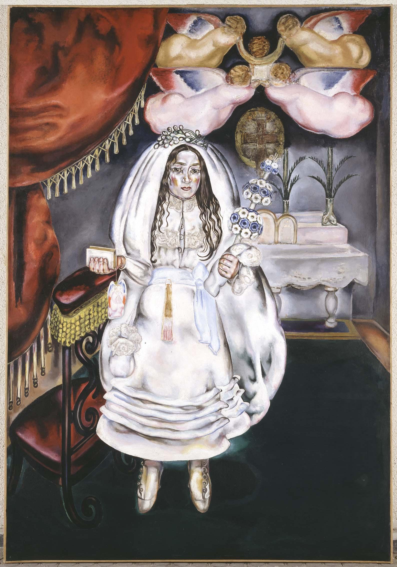 La Comulgante, 1914, de María Blanchard. Museo Reina Sofía