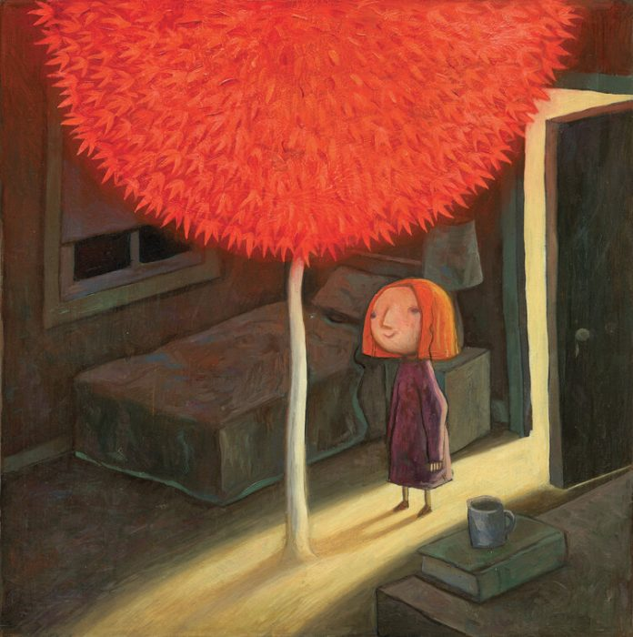 El árbol rojo
